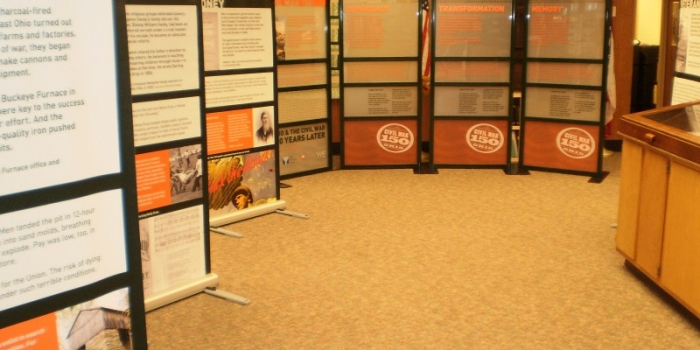NORTH CANTON HERITAGE SOCIETY AND PUBLIC LIBRARY  COLLABORATE TO HOST CIVIL WAR EXHIBITS