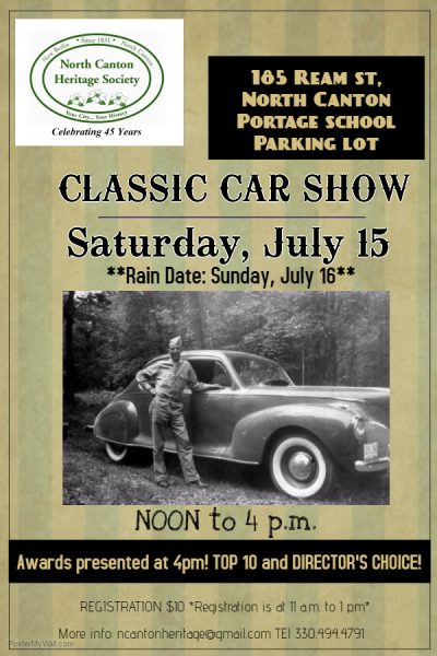 Thumbnail for the post titled: NCHS First CLASSIC CAR SHOW