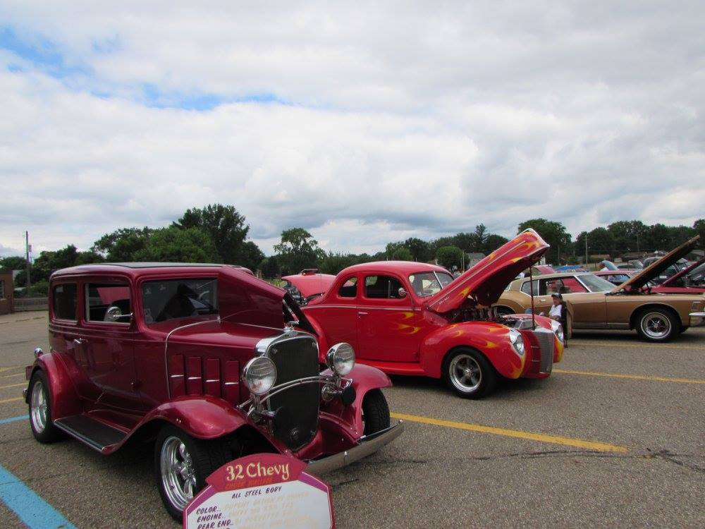 Thumbnail for the post titled: NCHS First Classic Car Show was a HIT!