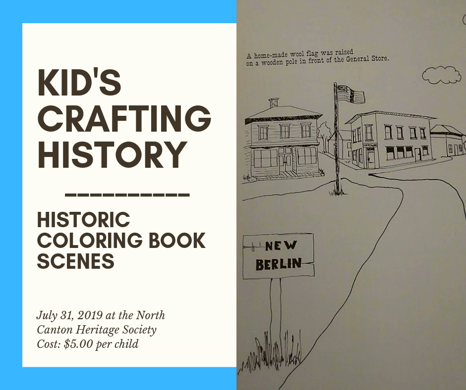 Kid's Crafting History: Historic Coloring Book Scenes