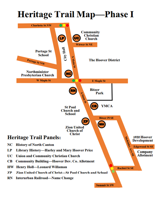 This image has an empty alt attribute; its file name is Phase-I-Heritage-Trail-Map.png